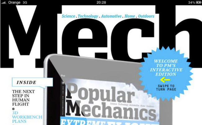 APP OF THE DAY - Popular Mechanics (iPad) - photo 1