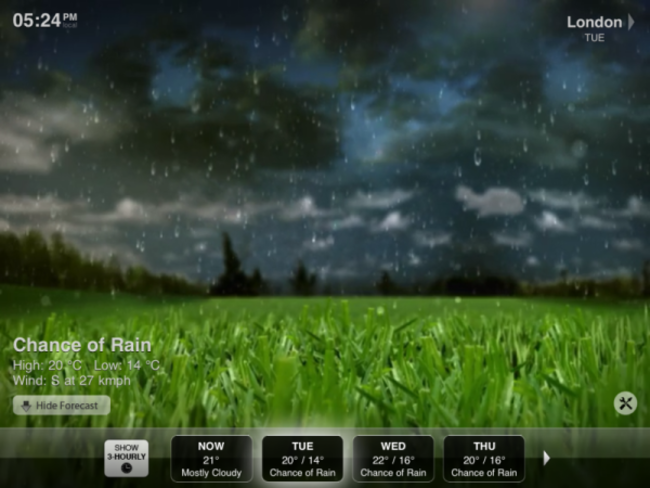 APP OF THE DAY - Weather HD - photo 3