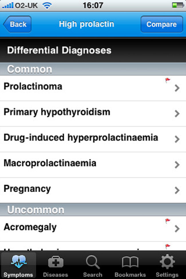 APP OF THE DAY - Differential diagnosis DDX (iPhone/iPad) - photo 3