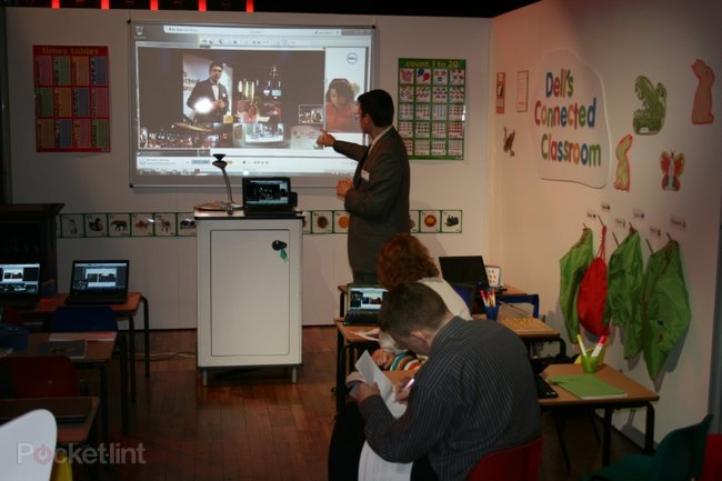 """Here Sir!"" - Pocket-lint goes back to school with Dell's connected classroom - photo 3"