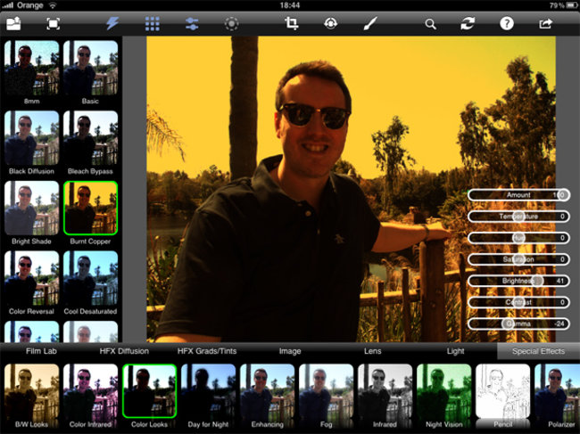 APP OF THE DAY – Photo fx Ultra (iPad) - photo 1