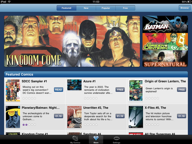 Comic-Con 2010: Top 5 comic book apps - photo 3