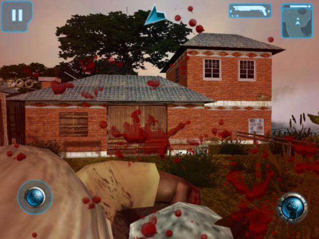 APP OF THE DAY: Zombie Infection HD (iPad) - photo 5