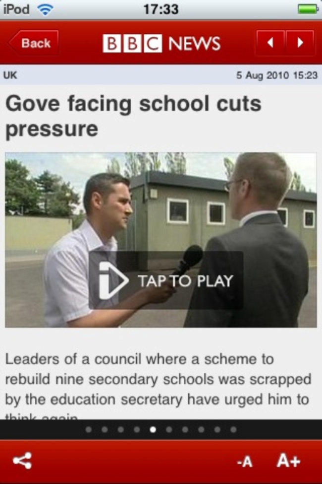 APP OF THE DAY - BBC News (iPhone/iPad) - photo 3