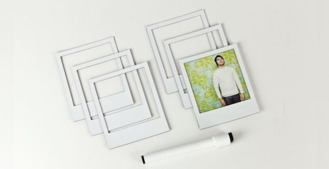 Pimp your fridge with Magnetic Polaroid Frames - photo 2