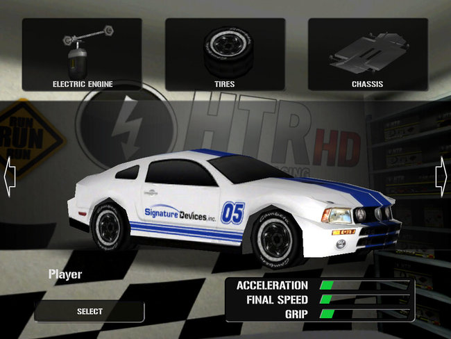 APP OF THE DAY - HTR HD High Tech Racing (iPad) - photo 2