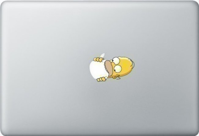 D'oh: 8 ways to Simpsons-ise your Apple iphone/ipad/MacBook   - photo 6