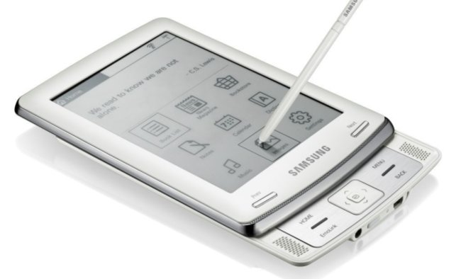 Samsung E60 to take on Kindle with WHSmith partnership - photo 2