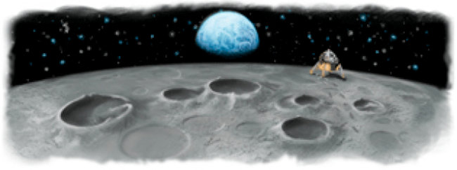 Google Doodles that are out of this world - photo 1