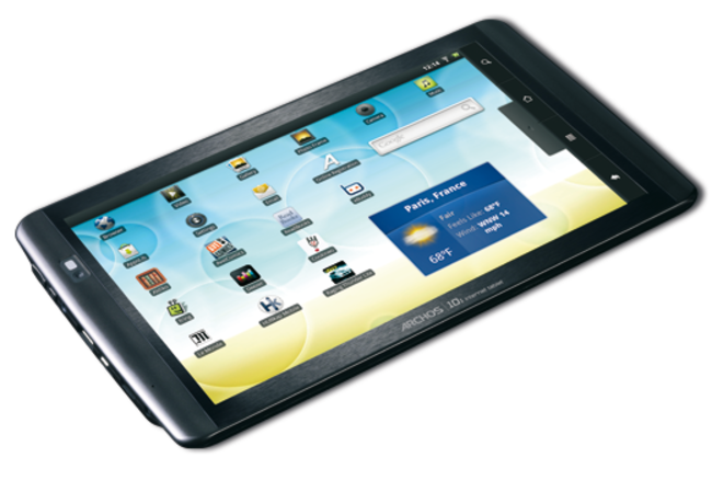Archos floods Android tablet market with 5 new models starting at £99 - photo 16