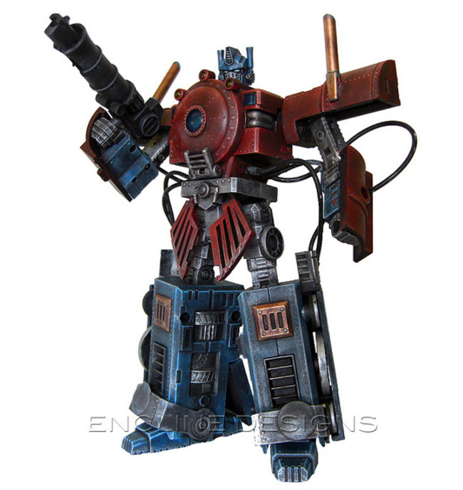 Transformer gets steampunk makeover - photo 2