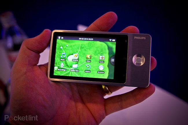 Philips GoGear Connect MP3 player hands-on - photo 1