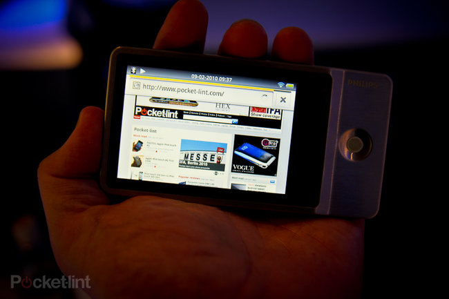 Philips GoGear Connect MP3 player hands-on - photo 8