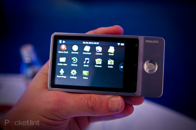 Philips GoGear Connect MP3 player hands-on - photo 9