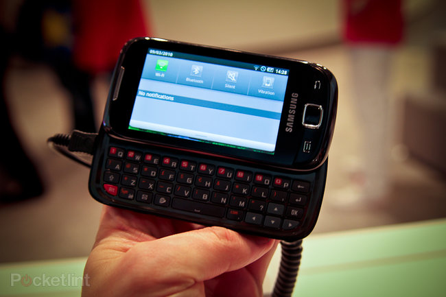 Samsung GT-i5510 (aka Galaxy Apollo) spotted at IFA - photo 2