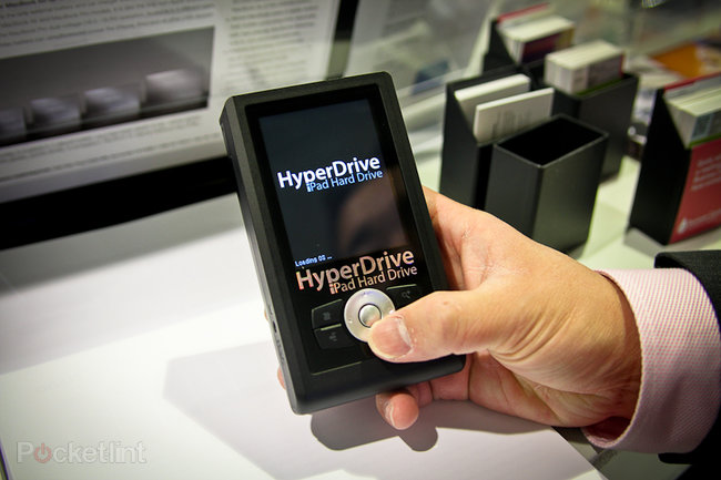 HyperDrive: iPad hard drive boosts your iPad storage to 750GB - photo 2