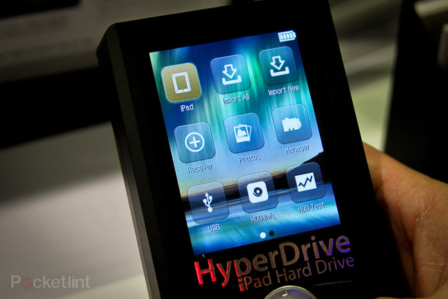 HyperDrive: iPad hard drive boosts your iPad storage to 750GB - photo 3