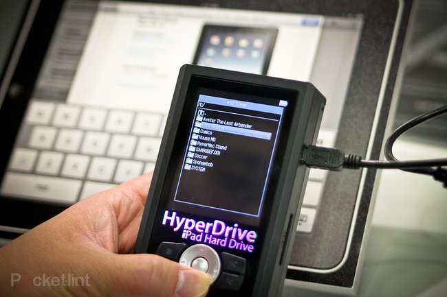 HyperDrive: iPad hard drive boosts your iPad storage to 750GB - photo 6
