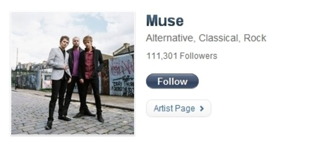 Ping: Top 10 most followed artists - photo 6