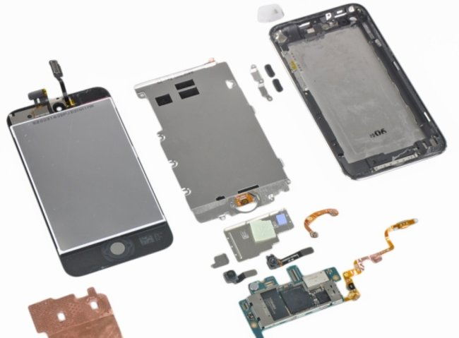 iPod touch 4G teardown treatment - photo 4