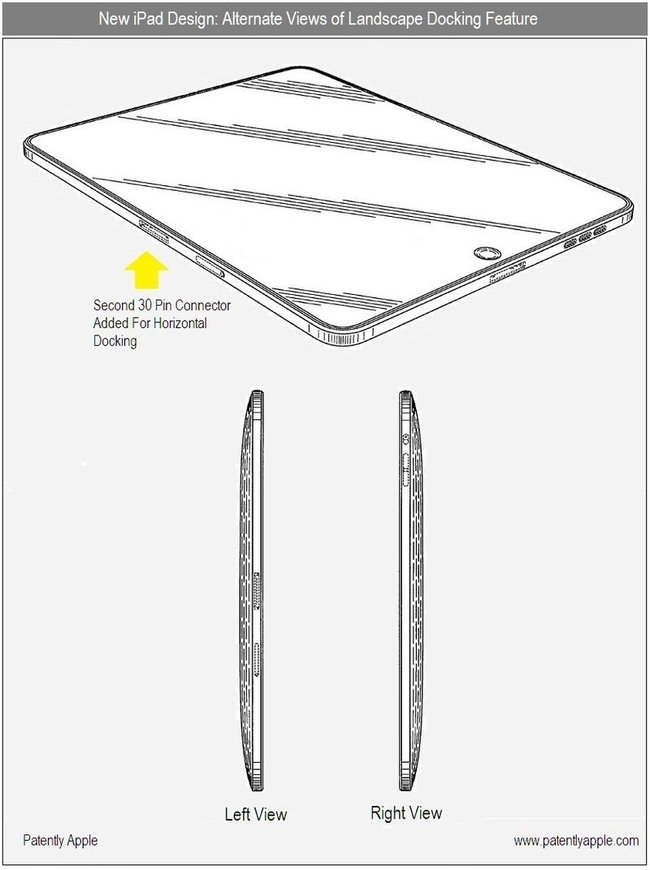 iPad 2 patent shows possible future features - photo 2