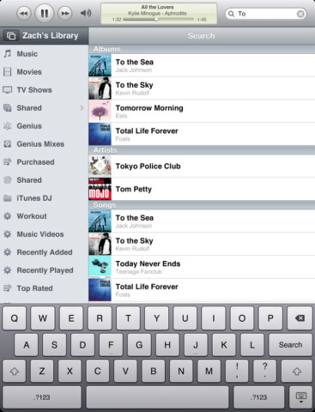 Apple Remote app adds new Apple TV, iPad support - photo 3