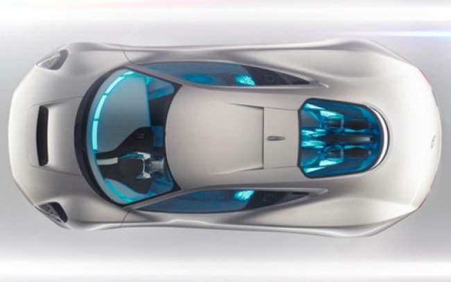 Jaguar C-X75 electric concept car loves Tron - photo 1