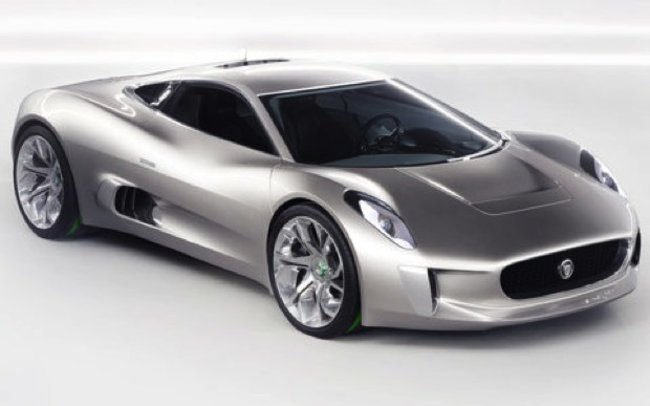 Jaguar C-X75 electric concept car loves Tron - photo 7