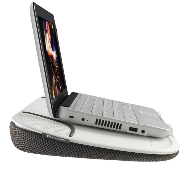Logitech Speaker Lapdesk N550: The multifunctional tray - photo 3