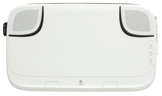 Logitech Speaker Lapdesk N550: The multifunctional tray - photo 4