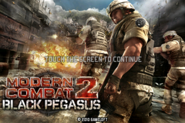 APP OF THE DAY - Modern Combat 2: Black Pegasus (iPhone) - photo 2