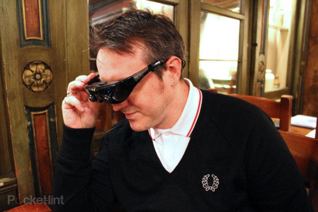 Vuzix Wrap 920AR 3D augmented reality glasses hands-on - photo 1