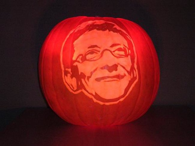 Greatest geek Halloween pumpkins from around the 'net - photo 3