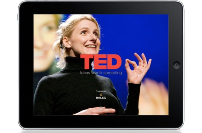 APP OF THE DAY: TED (iPad) - photo 1