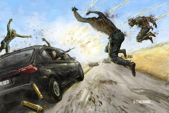 App of the Day - Zombie Highway (iPhone) - photo 1