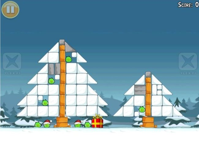 Angry Birds Christmas edition coming free of charge - photo 2