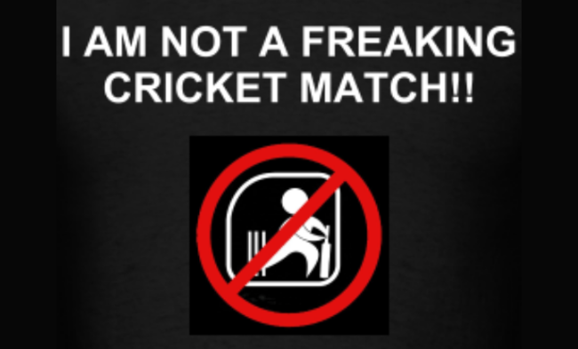 @theashes: I am not a freaking cricket match!!!  - photo 2