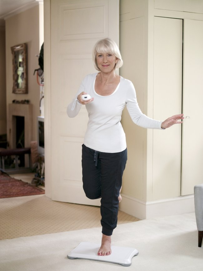 Helen Mirren on board to promote Parkinson's Wii-habilitation - photo 3