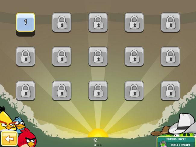 Angry Birds HD iPad update adds 15 more levels - photo 4