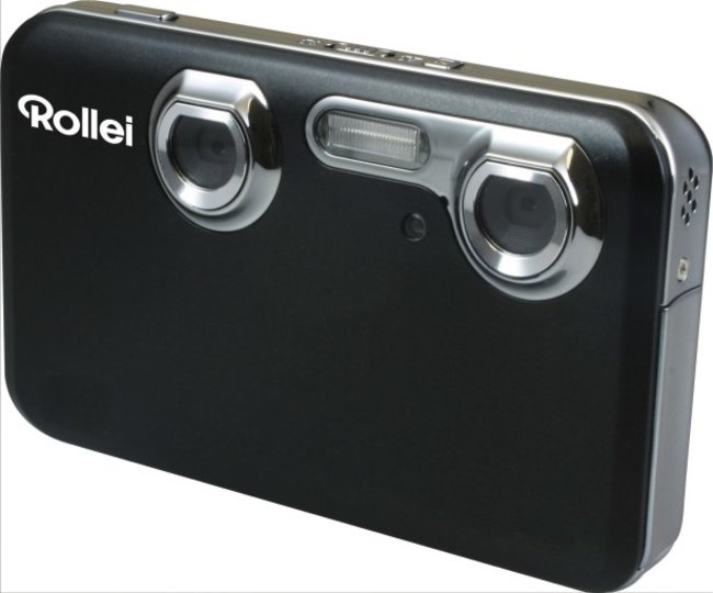 Rollei goes 3D with new 3D camera and photoframe - photo 1