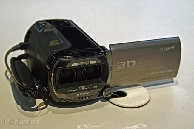 Sony unleashes Full HD 3D camcorder - photo 3