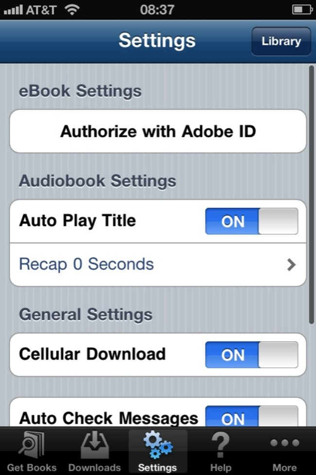 OverDrive Media Console brings free ebooks to Android and iPhone - photo 3
