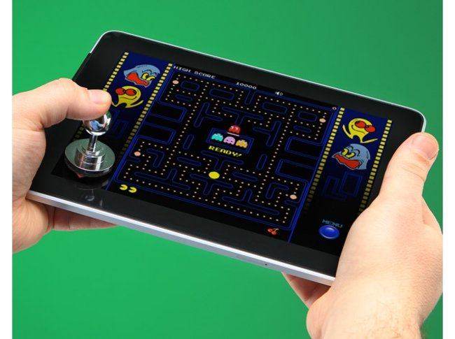 VIDEO: ThinkGeek Joystick-IT for touchscreen retro gaming - photo 3
