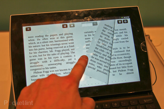 Asus Eee Pad Slider pictures and hands-on - photo 6