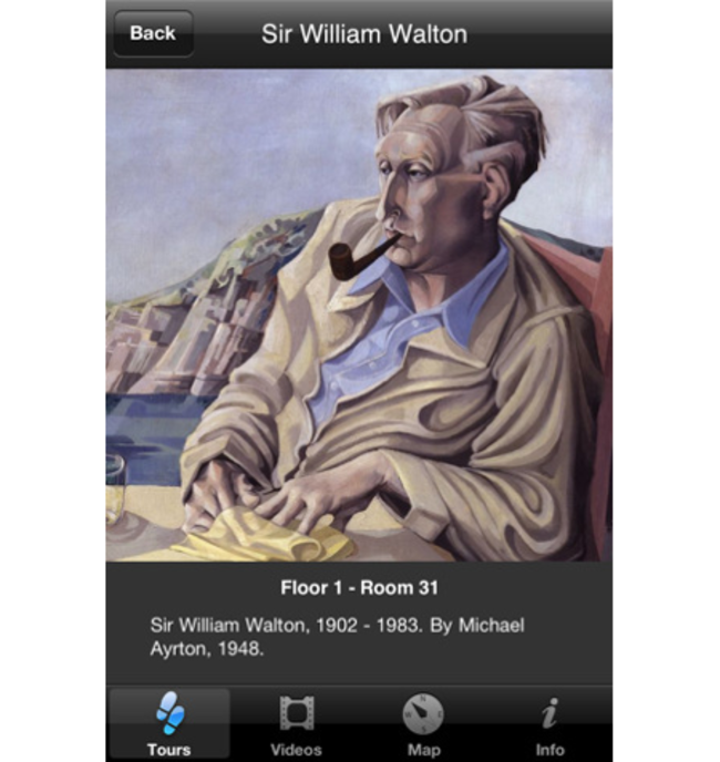 APP OF THE DAY: National Portrait Gallery review (iPhone) - photo 2