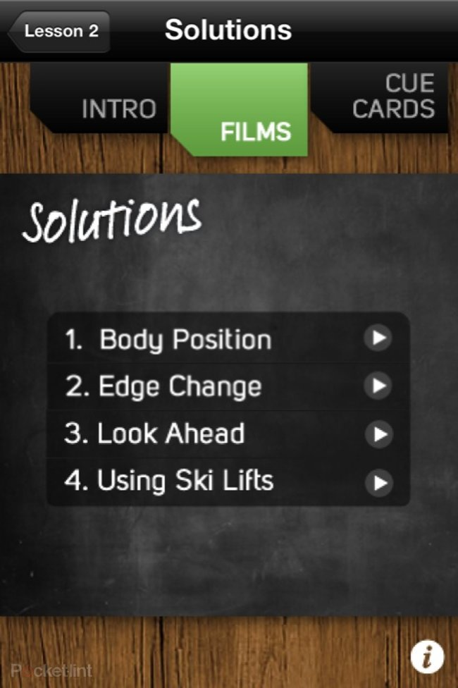 APP OF THE DAY: Ski School Beginners review (iPhone) - photo 5