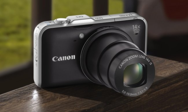 Canon PowerShot fires in two compact super-zooms - photo 1