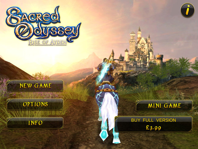 APP OF THE DAY: Sacred Odyssey: Rise of Ayden HD review (iPad) - photo 3