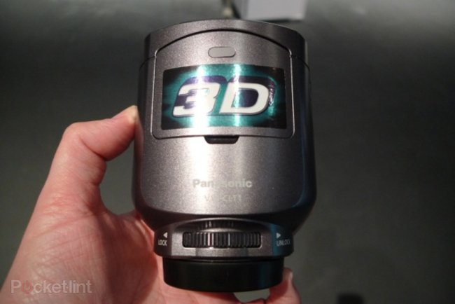 Panasonic VW-CLT1 3D camcorder lens hands-on - photo 1