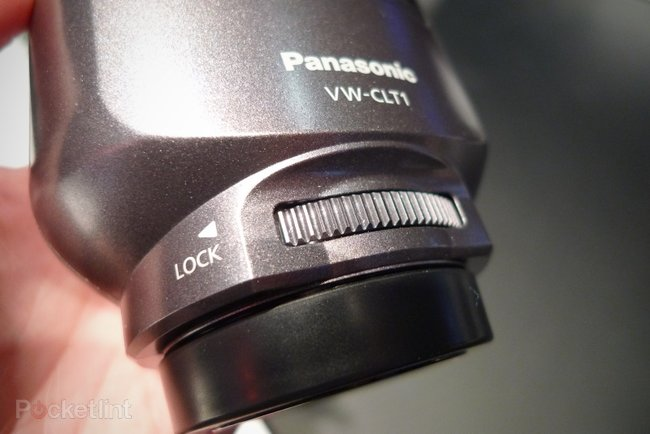 Panasonic VW-CLT1 3D camcorder lens hands-on - photo 2